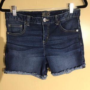 Justice Bottoms - Justice Blue Shorts Size 16 plus